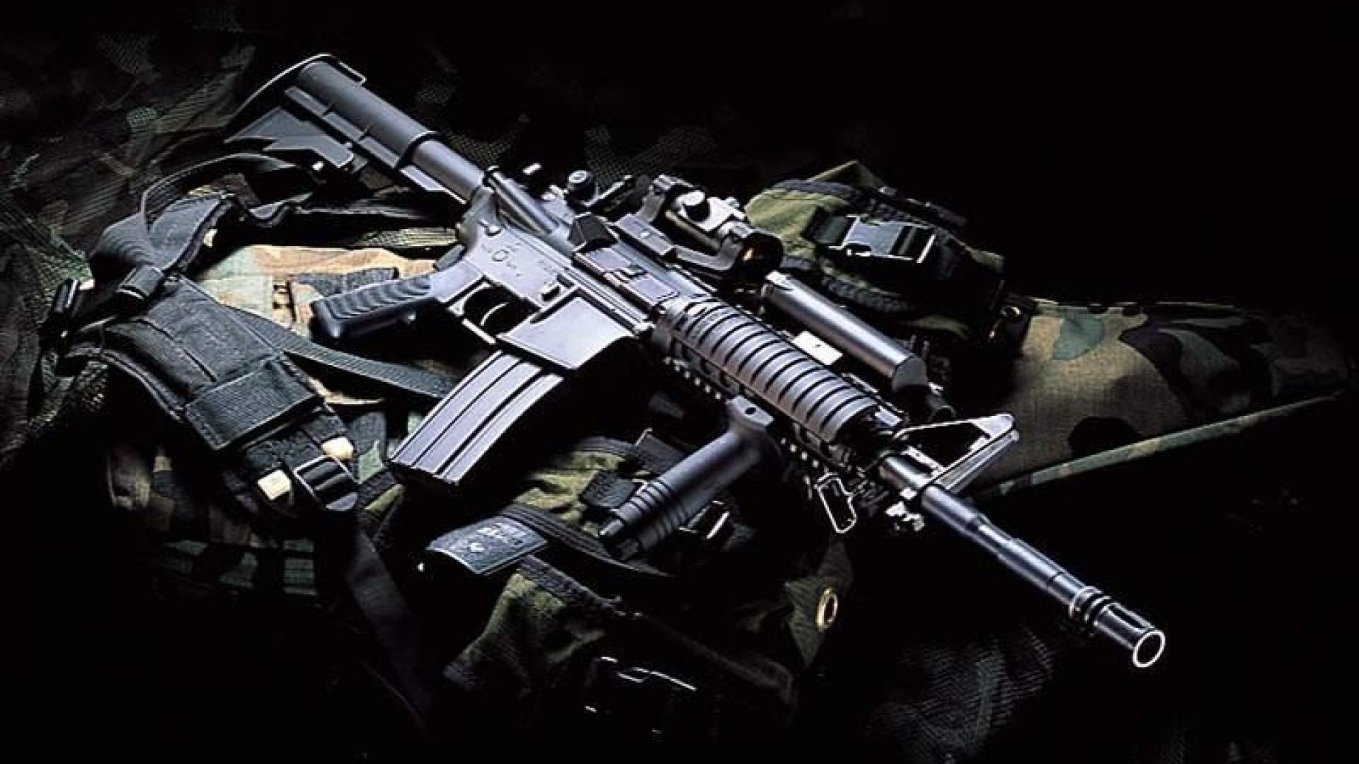 m16 gun wallpaper desktop - photo #1