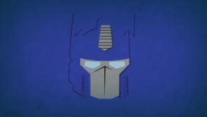 Optimus Prime Blo0p Minimalism