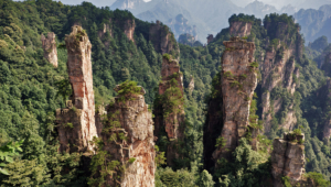 Pictures Of Zhangjiajie National Forest Park (China)