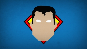 Superman Minimalism Blo0p