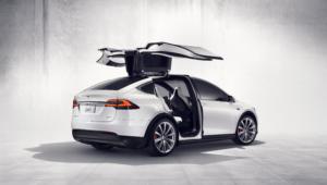 Tesla Model X 4K