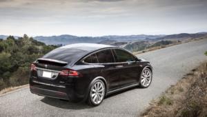 Tesla Model X HD Desktop