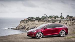 Tesla Model X For Desktop