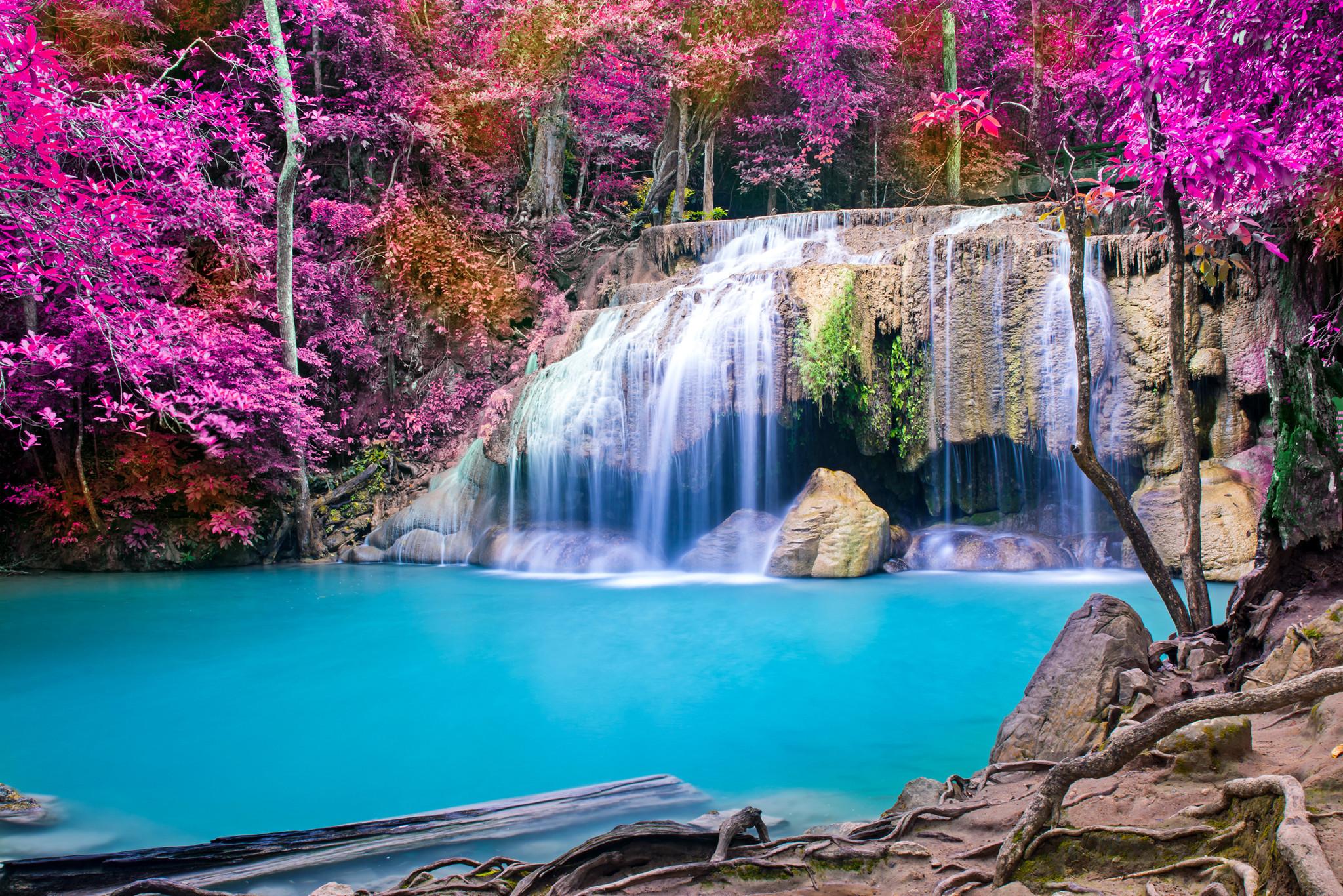 waterfalls girls