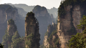 Zhangjiajie National Forest Park (China) Computer Wallpaper