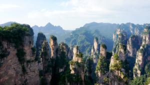 Zhangjiajie National Forest Park (China) Widescreen