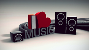 I Love Music Wallpaper