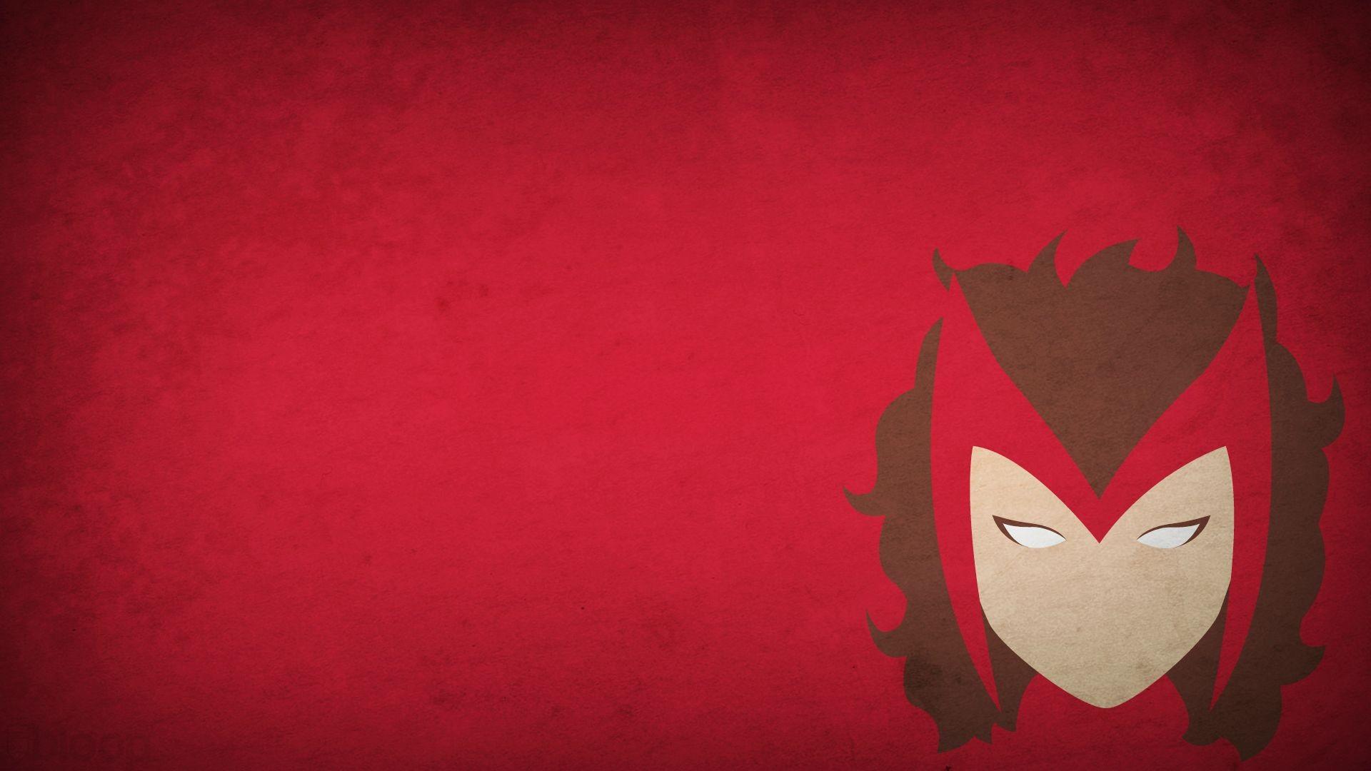 Minimalism Blo0p Scarlet Witch
