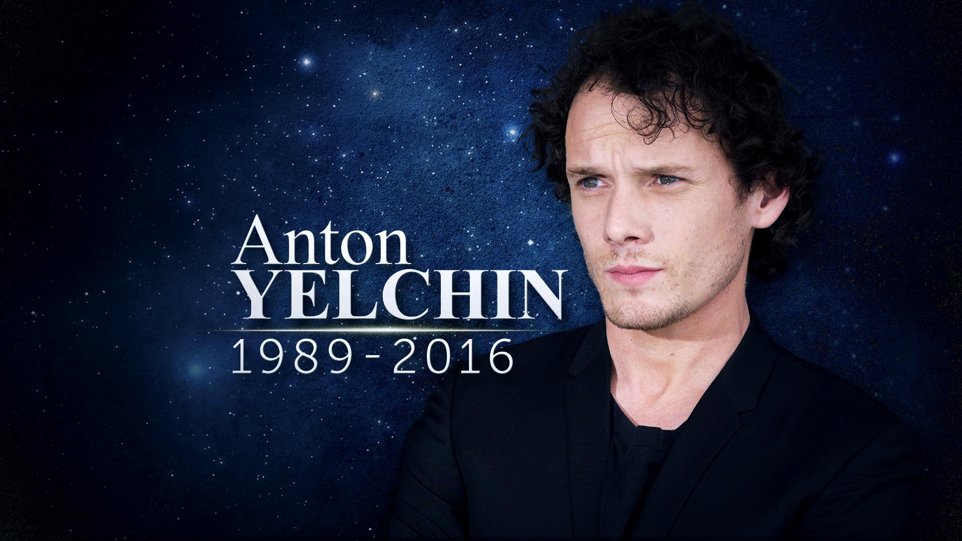 Anton Yelchin RIP