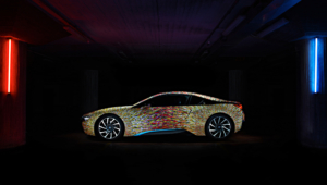 BMW I8 Futurism Edition Wallpaper