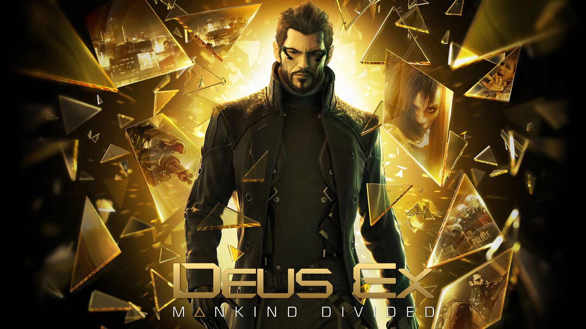 Deus Ex: Mankind Divided Wallpapers Images Photos Pictures