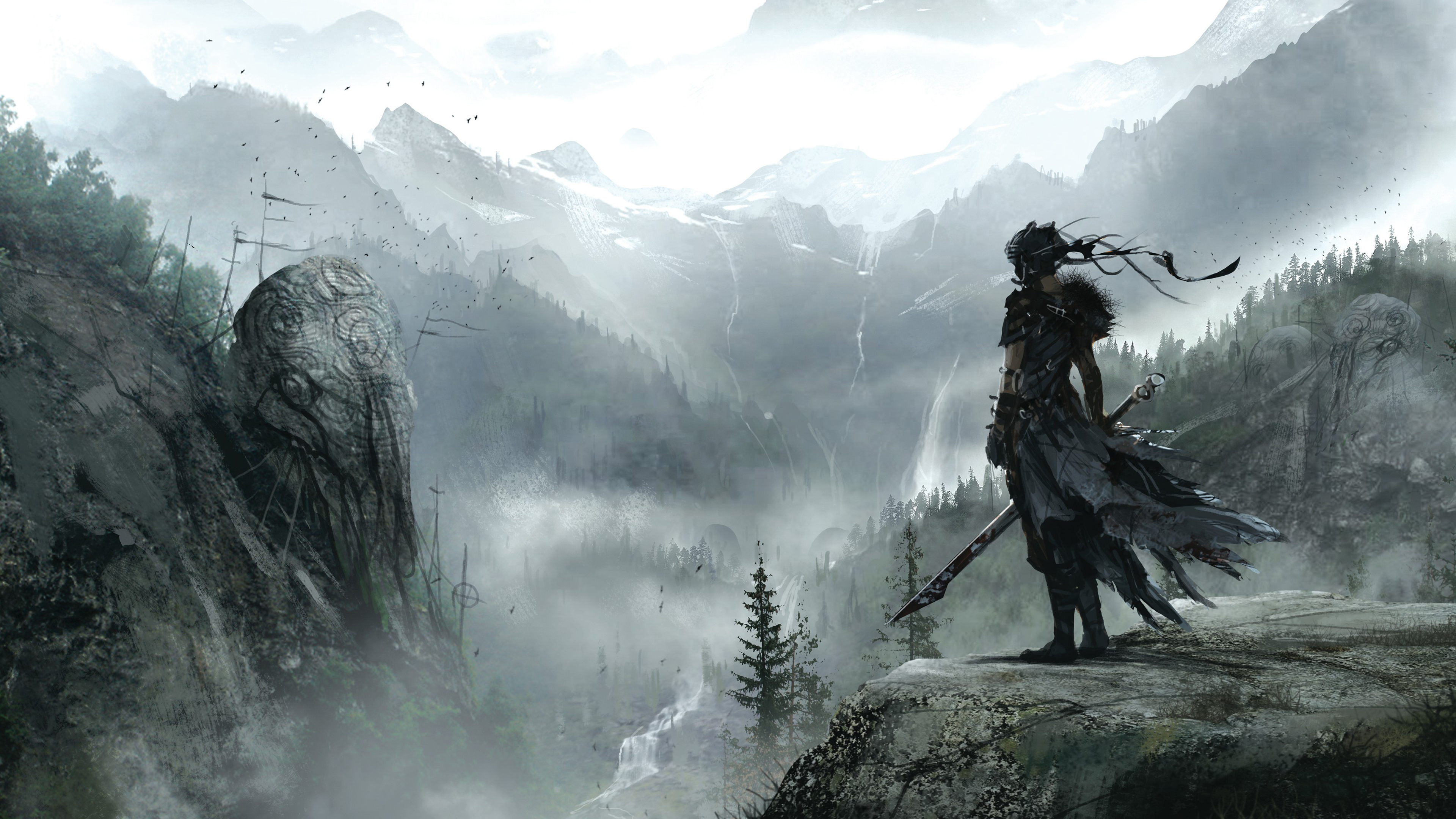 Hellblade senua s sacrifice wallpapers images photos pictures backgrounds - Sacrifice wallpaper ...