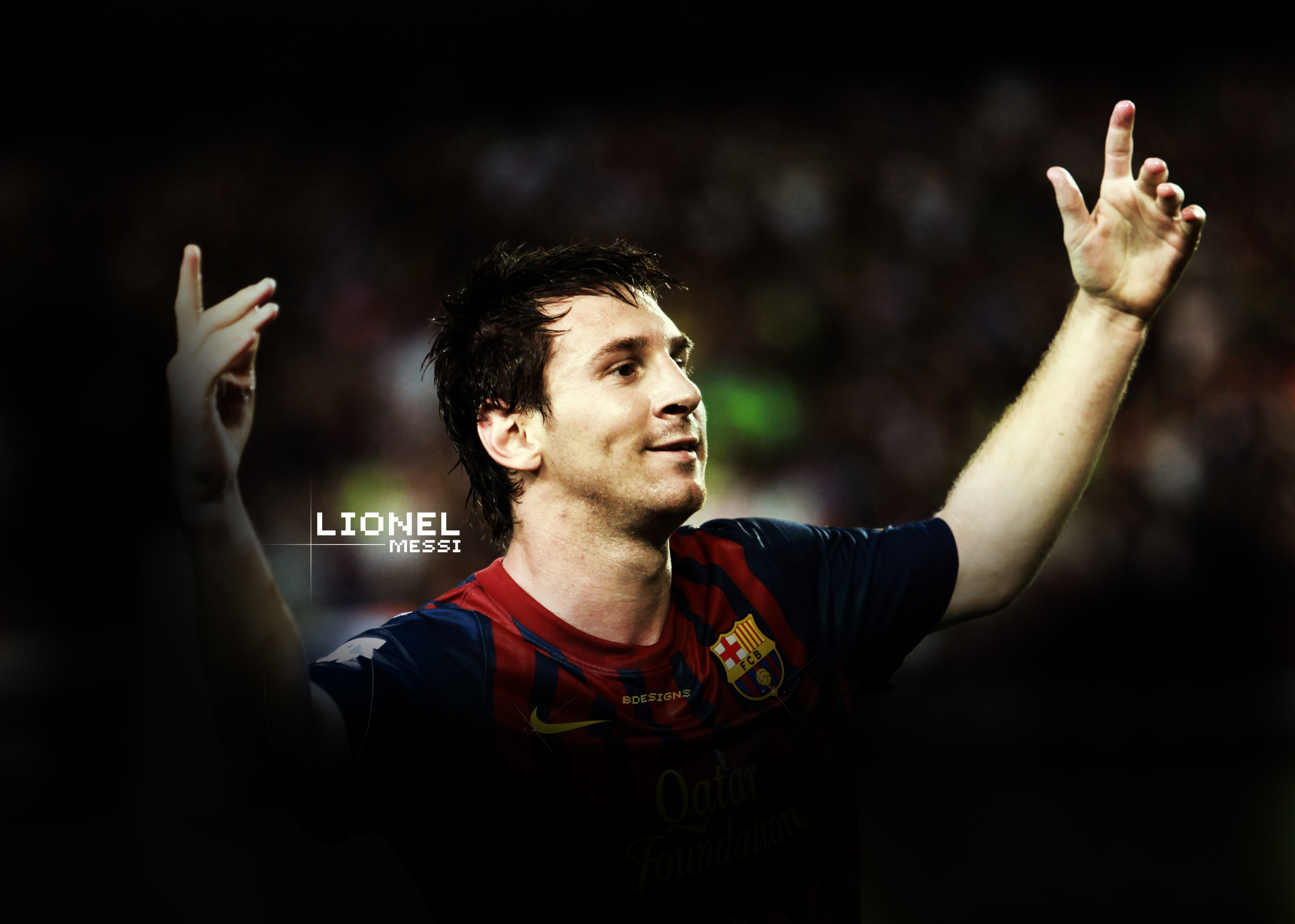 Free Lionel Messi Wallpaper By Kingofdesigndesign On DeviantArt