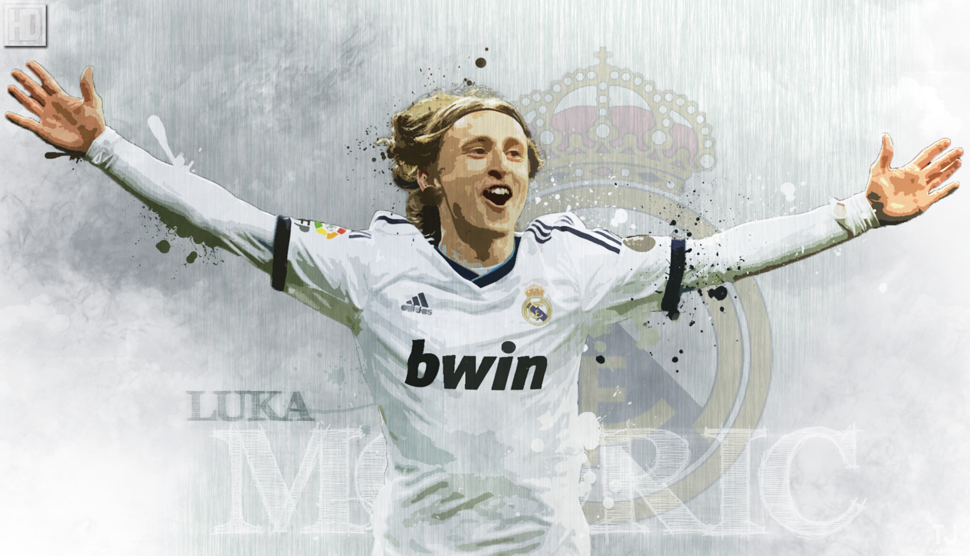 Luka Modric HD Background