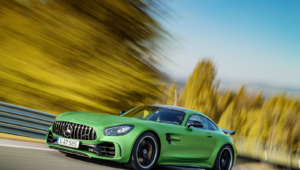 Mercedes AMG GT R Background