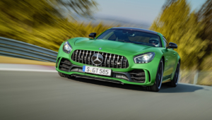 Mercedes AMG GT R HD Background