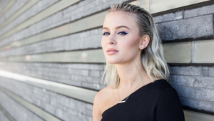 Zara Larsson HD Background