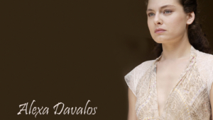 Alexa Davalos HD Background