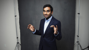 Aziz Ansari HD Background
