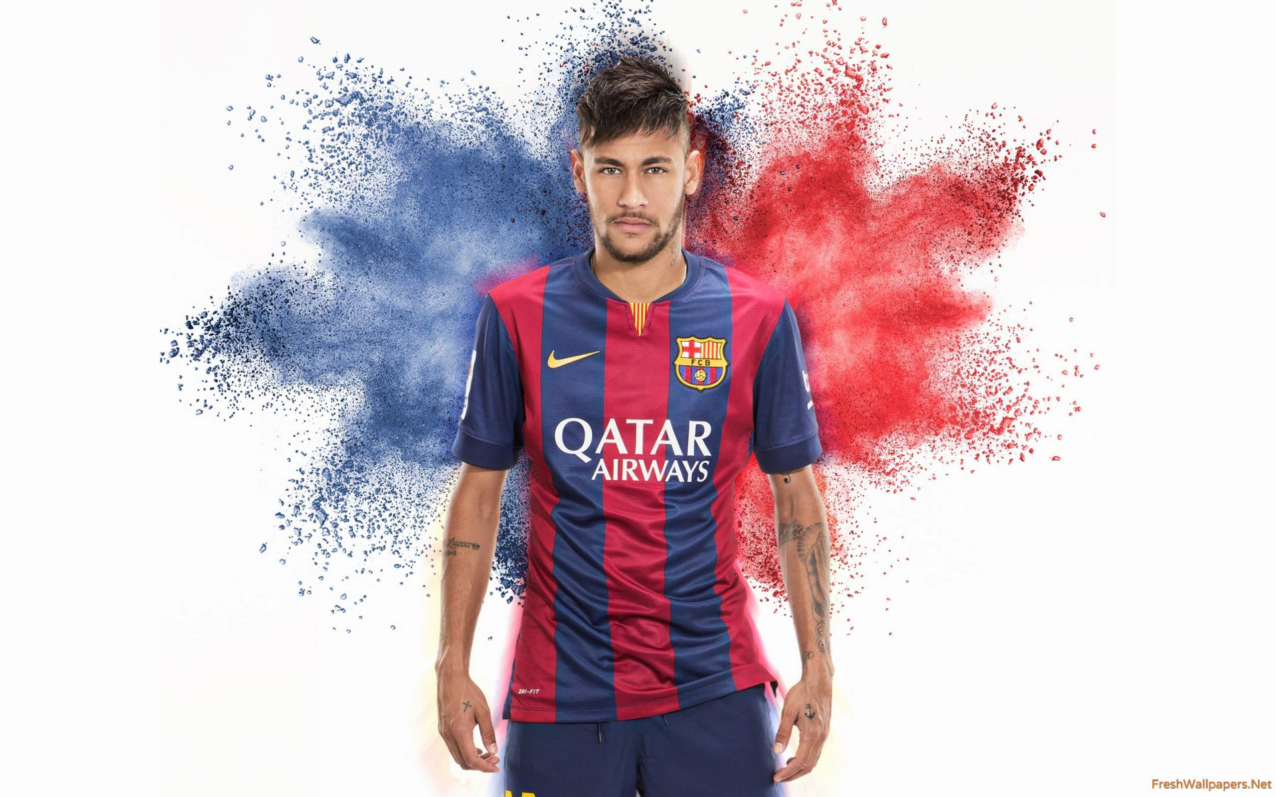 Download Neymar HD wallpaper for laptop