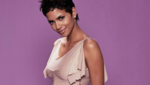 Halle Berry Background