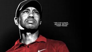 Tiger Woods Champion