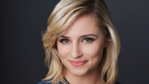 Blonde Dianna Agron Hd Wallpaper