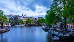 Amsterdam HD Background