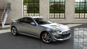 Hyundai Genesis Coupe Widescreen