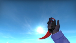 Karambit Crimson Web Wallpapers