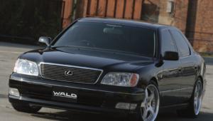 Lexus LS 400 Background