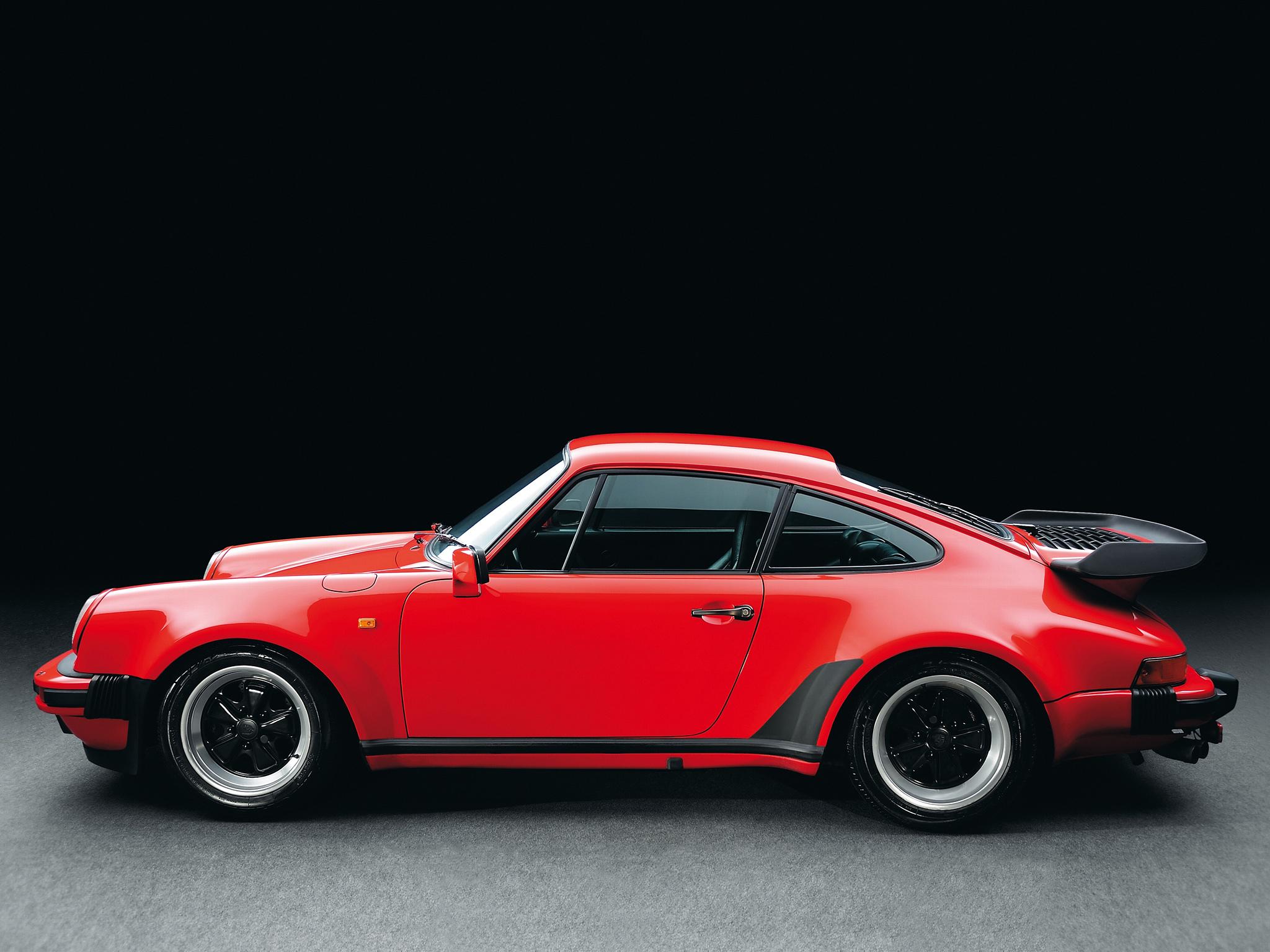 Photos Porsche 1977-89 911 Turbo 3.3 Coupe (930) Black 1920x1080