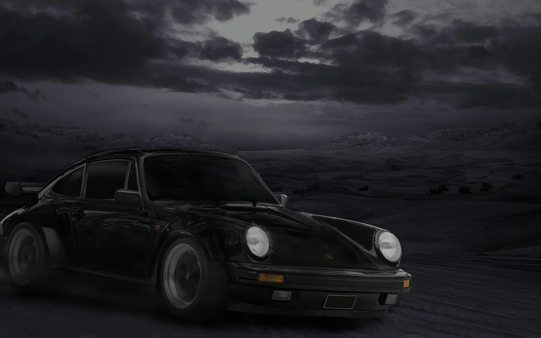 Black Porsche Car Hd Wallpaper Wallpress Free Wallpaper Site