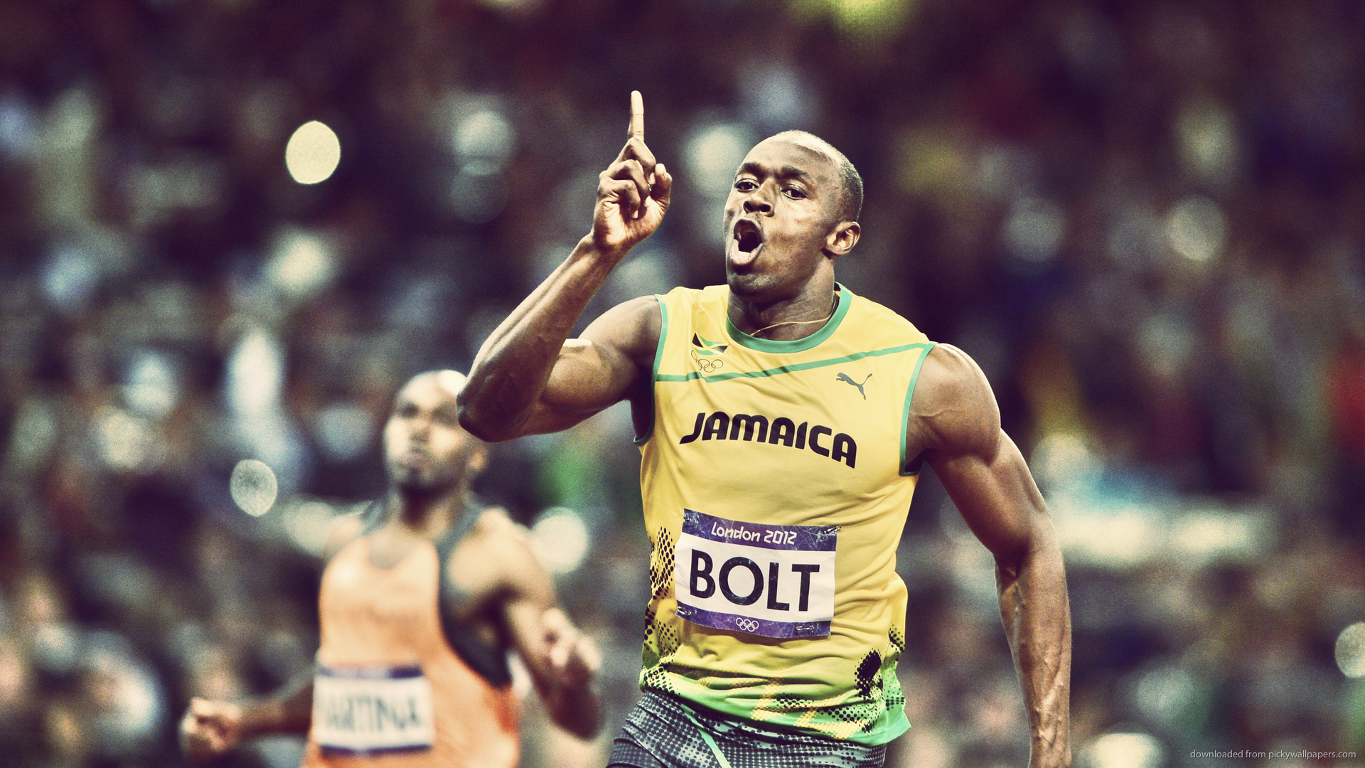 Usain Bolt Desktop Wallpaper