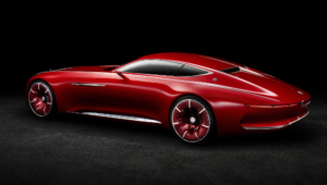 Vision Mercedes Maybach 6 Widescreen