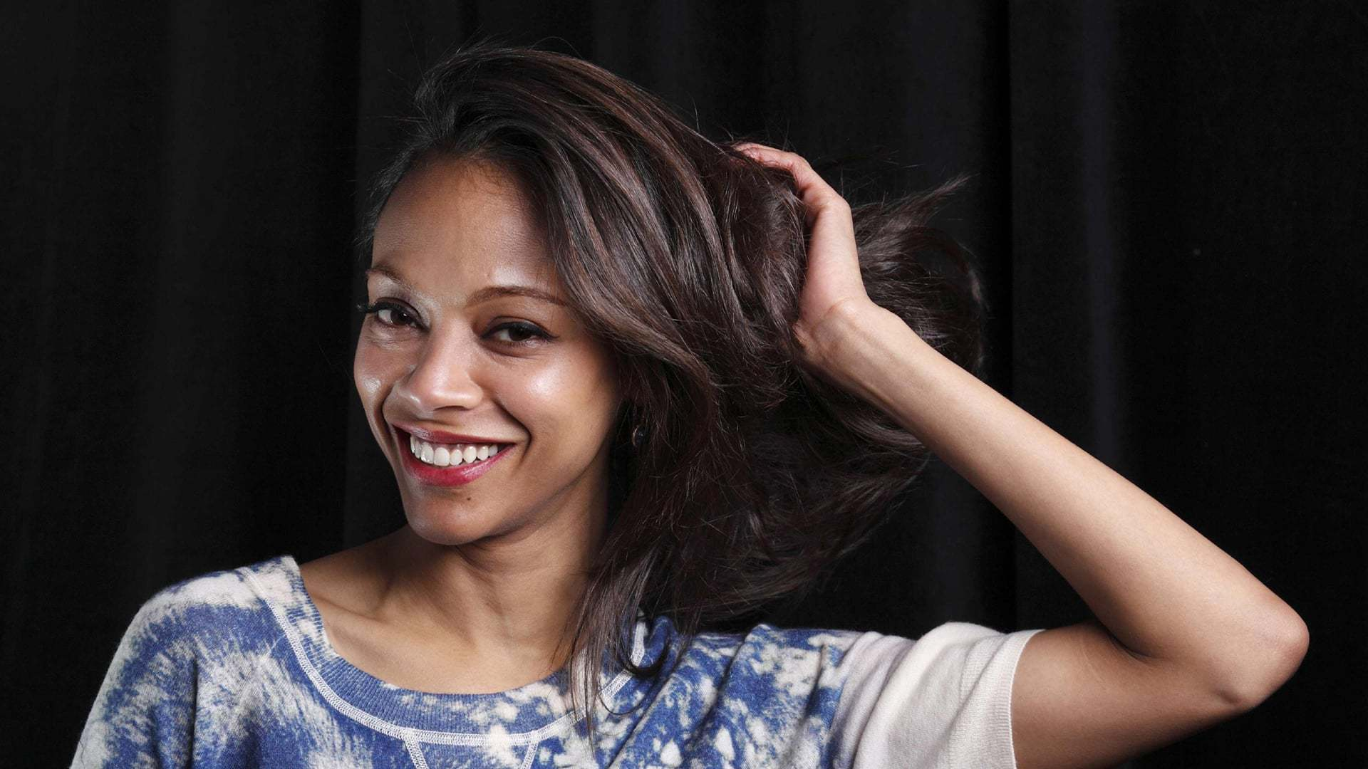 zoe saldana When it comes to motherhood, zoe saldana keeps it real, letting everyone know it's not always a walk in the park but a wonderful adventure the actress has.