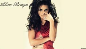 Alice Braga Hd Background