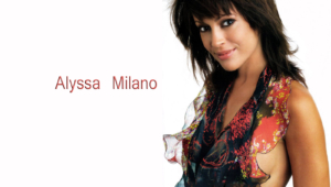 Alyssa Milano Computer Backgrounds