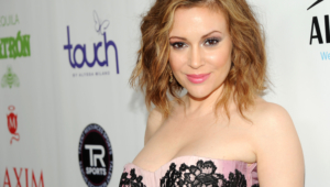 Alyssa Milano Hd Wallpaper