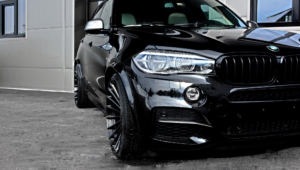 BMW X5 Tuning HD Background