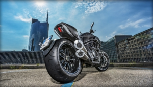 Ducati Diavel Background