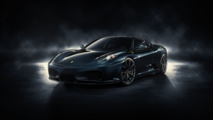 Ferrari F430 Black High Quality Wallpapers