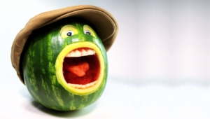 Funny Water Melon