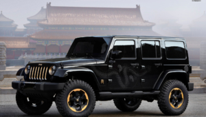 Jeep Wrangler Widescreen