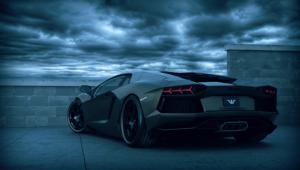 Lamborghini Aventador Widescreen