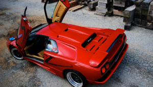 Lamborghini Diablo Background