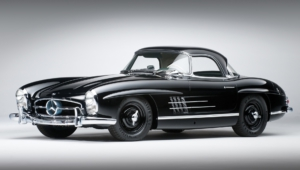 Mercedes Benz 300 SL 4K