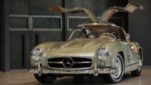 Mercedes Benz 300 SL Background