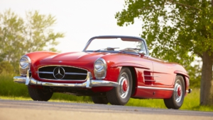 Mercedes Benz 300 SL HD Background