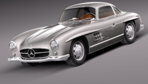 Mercedes Benz 300 SL HD Wallpaper
